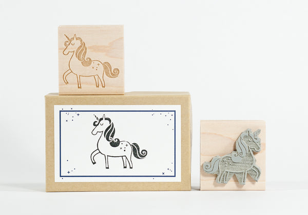 Felicette's Unicorn Rubber Stamp