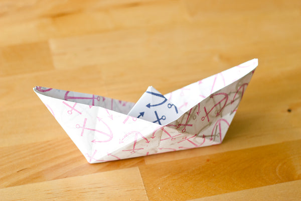 Finished Paper Boat