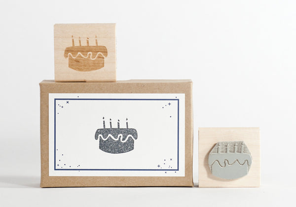 Birthday Cake Stamp