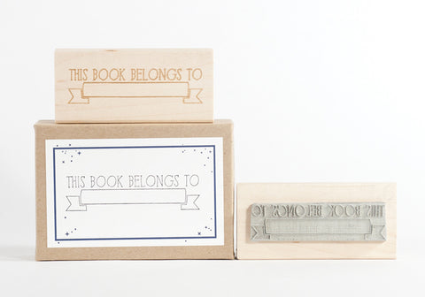 Personal Library Ribbon Stamp