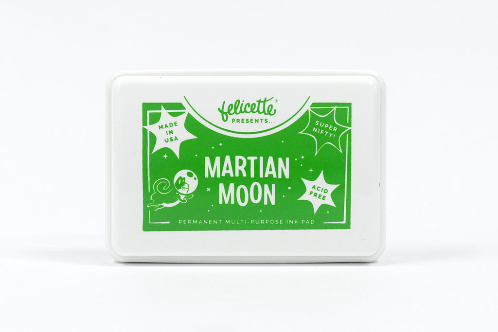 Martian Moon - Green Ink Pad
