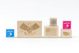 Patriotic Rubber Stamp Kit