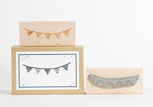 Decorated Bunting Stamp