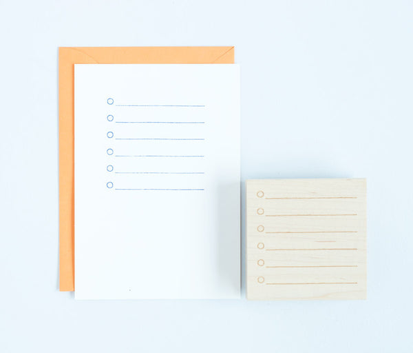 To-Do List Stamp
