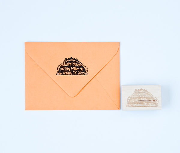 Taco Address Stamp