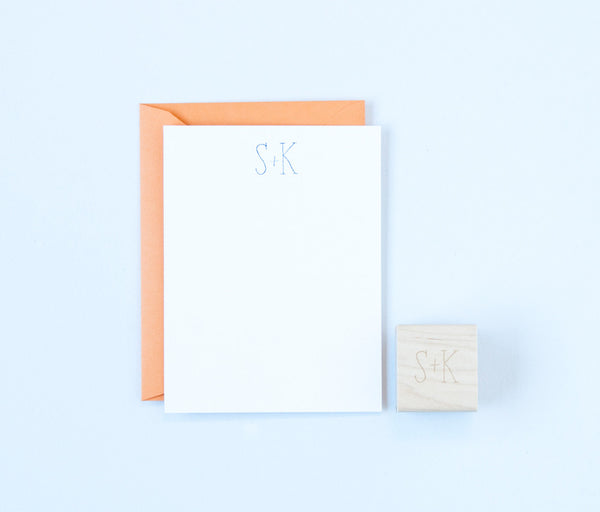Simple Initials Stamp