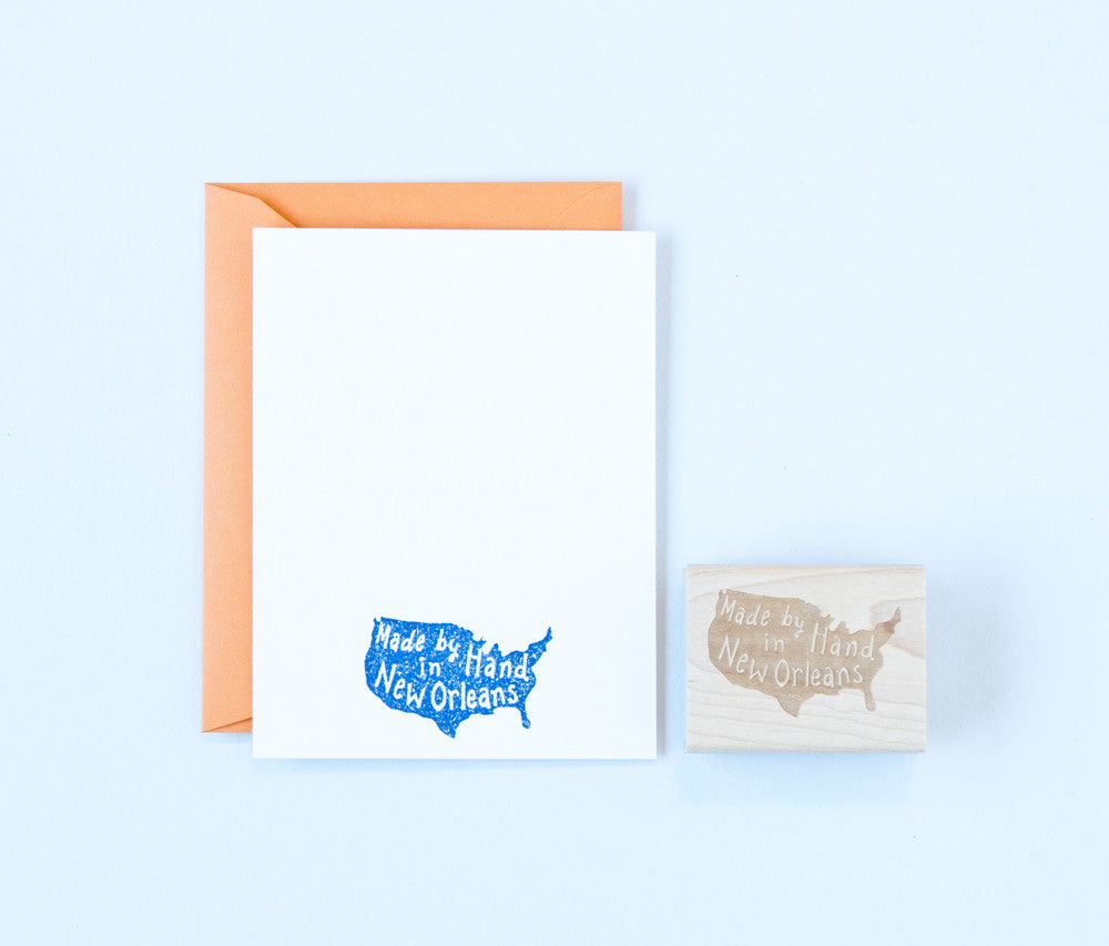 Made by Hand United States Stamp
