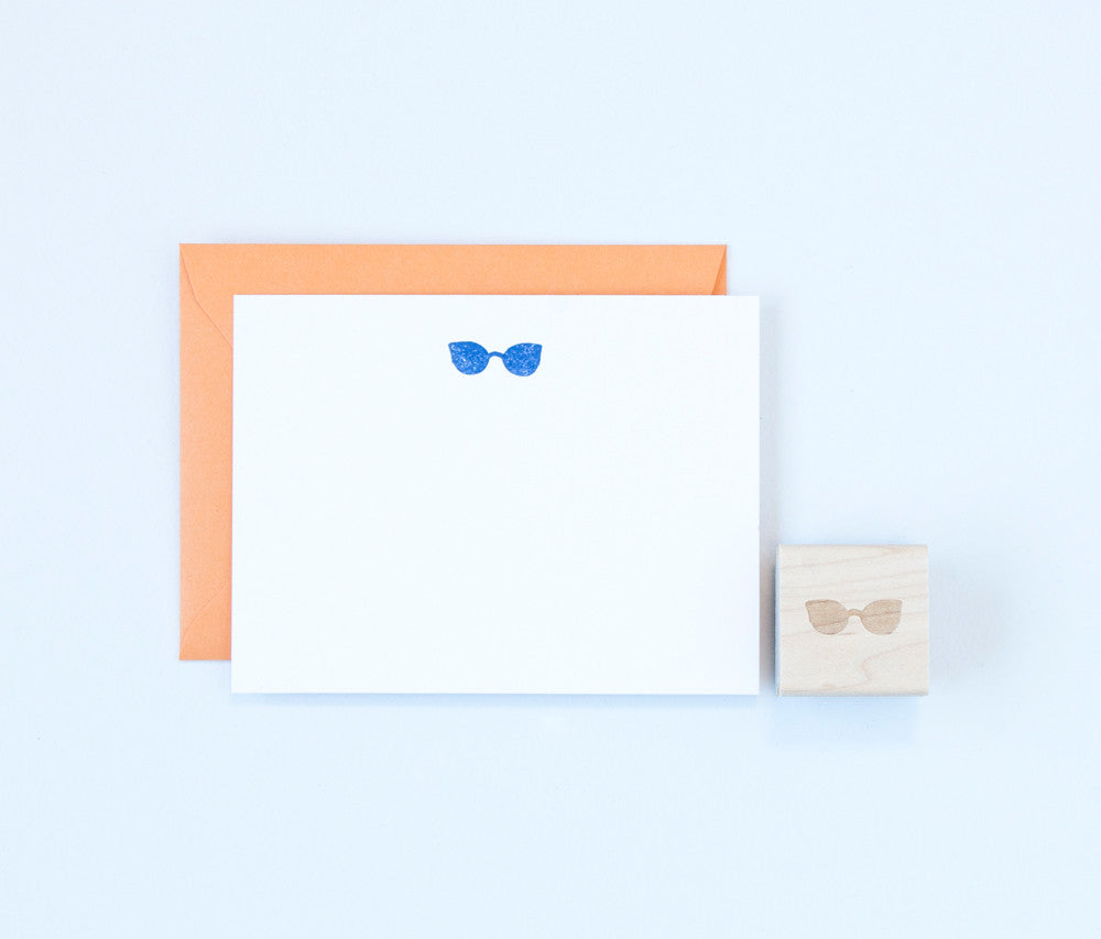Sunglasses Stamp
