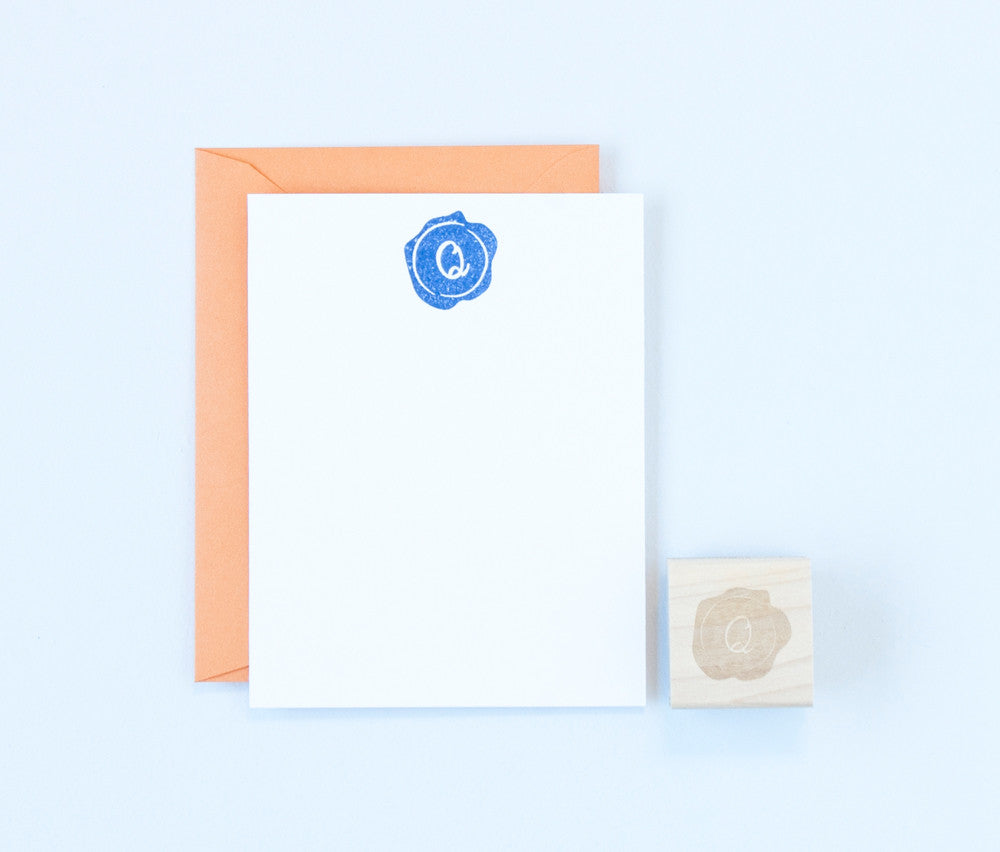 Wax Seal Monogram Stamp