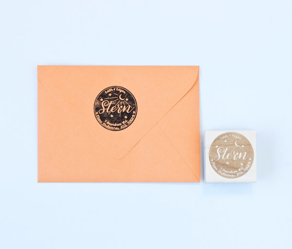 Water Meter Return Address Stamp