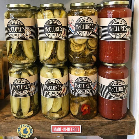 McClure's Pickles at Cook & Nelson