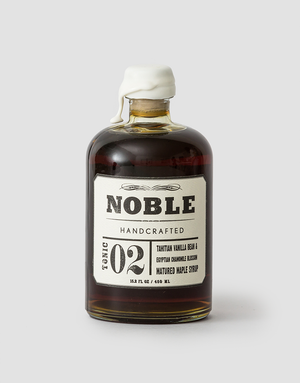 Noble Handcrafted Tonic 02: Tahitian Vanilla Bean & Egyptian Chamomile Blossom Matured Maple 450ml