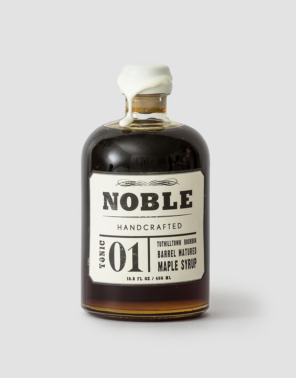 Noble Handcrafted Tonic 01: Tuthilltown Bourbon Barrel Matured Maple 450ml