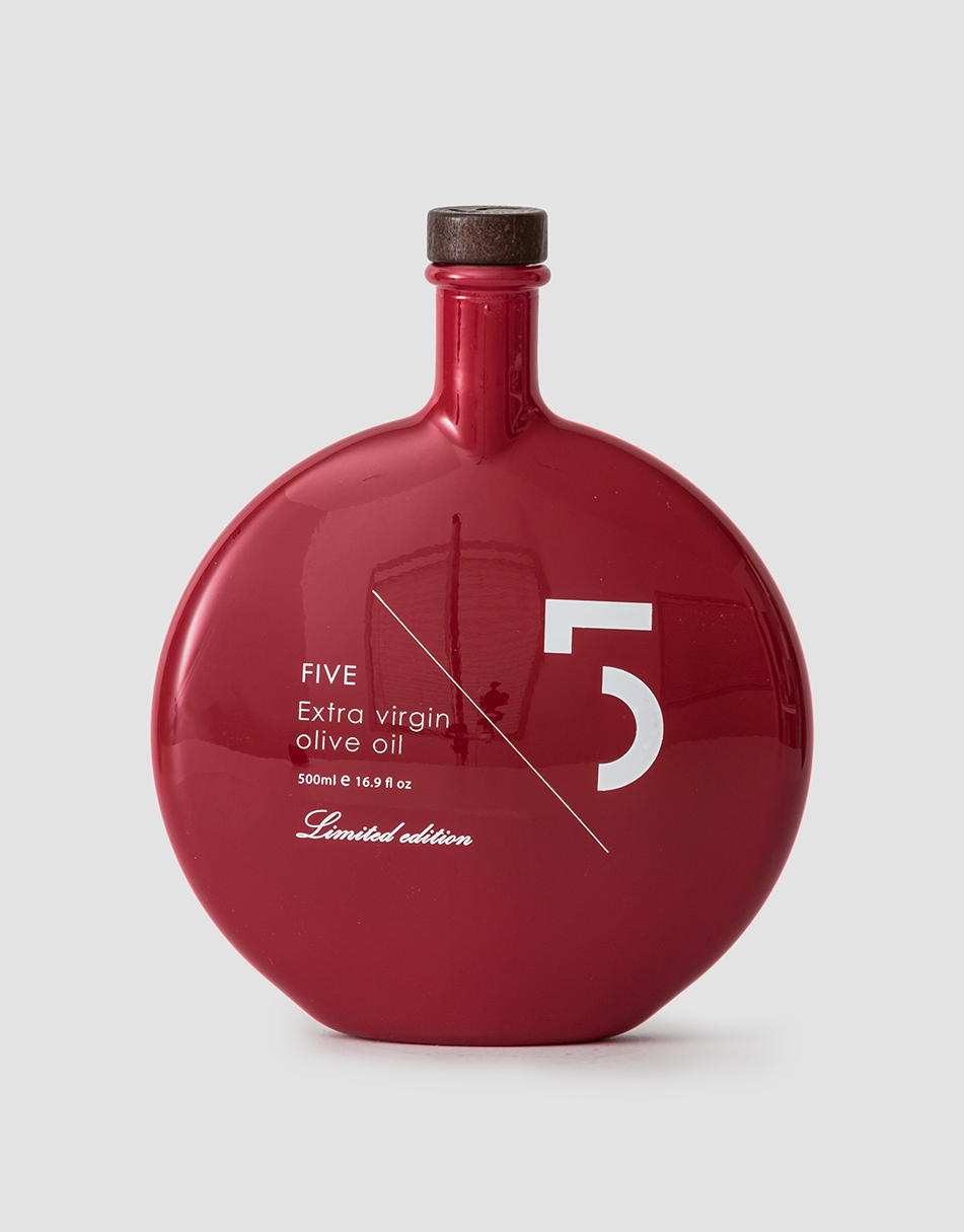 Five Limited Edition Extra Virgin Olive Oil (red bottle) 500ml