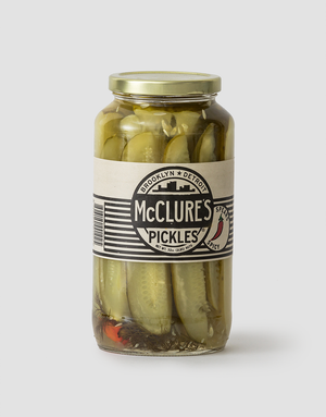 McClure's Pickles Spicy Pickle Spears 907g