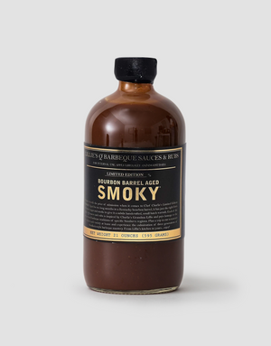 Lillie's Q Bourbon Barrel Aged Smoky Sauce 473mL