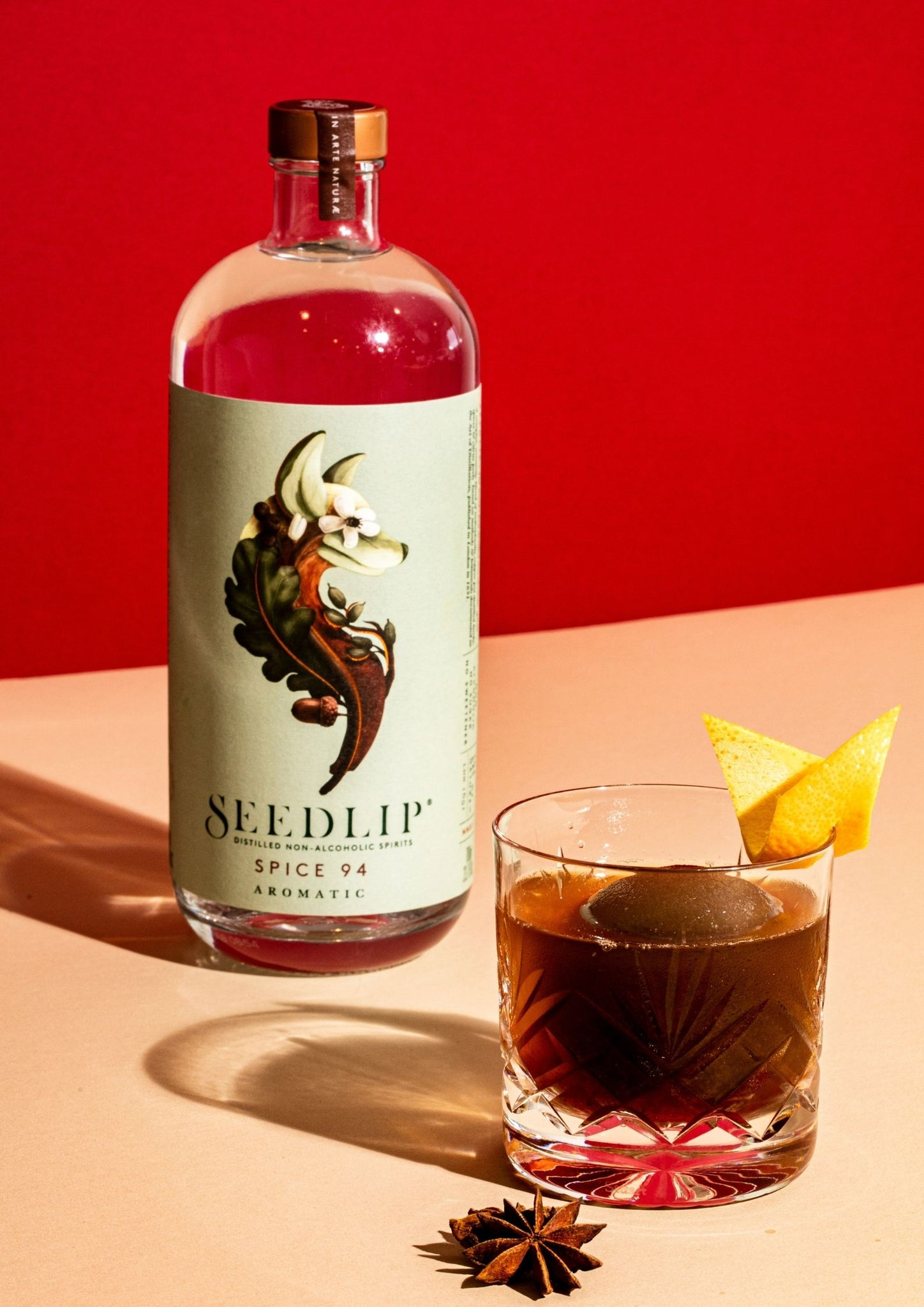 Seedlip Spice Merry Cherry Cocktail Kit