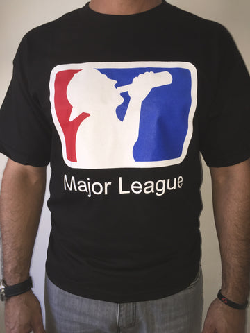 MAJOR LEAGUE BLACK T-SHIRT