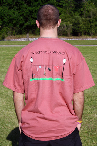 "Men ""What's your Swank?"" T-Shirt"