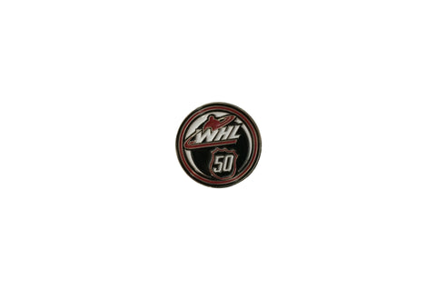 WHL 50th Season Pin