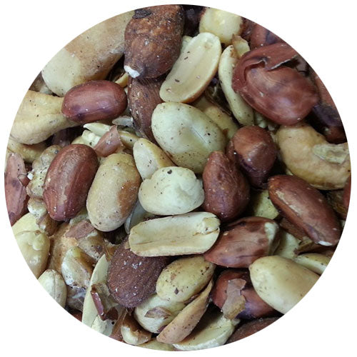 Mixed Nuts with Peanuts Unsalted 1kg