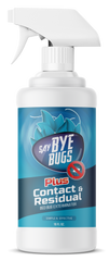 SayByeBugs Bed Bug Extermination Spray New Residual Formula - 16oz