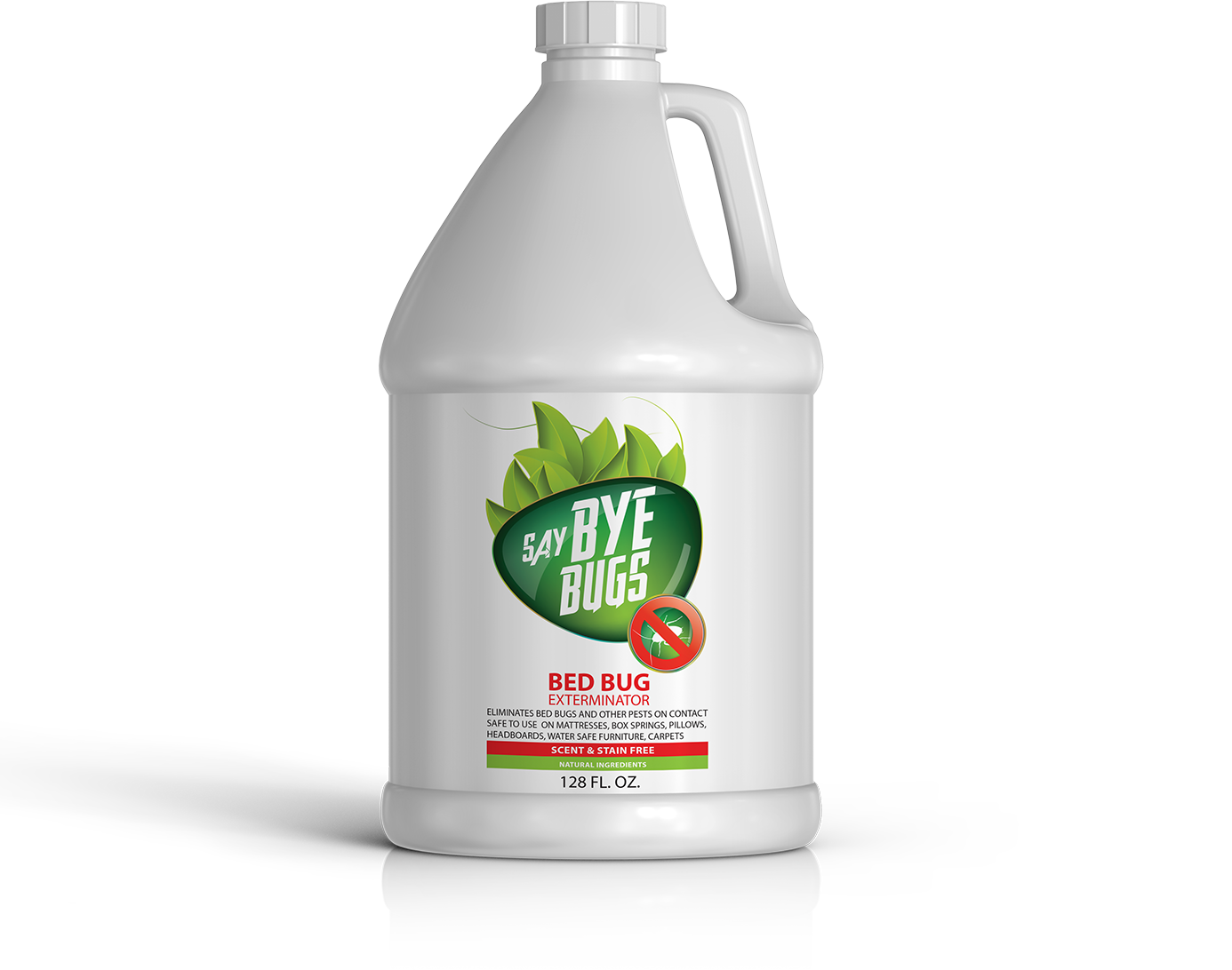 saybyebugs bed bug spray 1 gallon