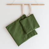 Organic Cotton Wet + Dry Bag / Aloe