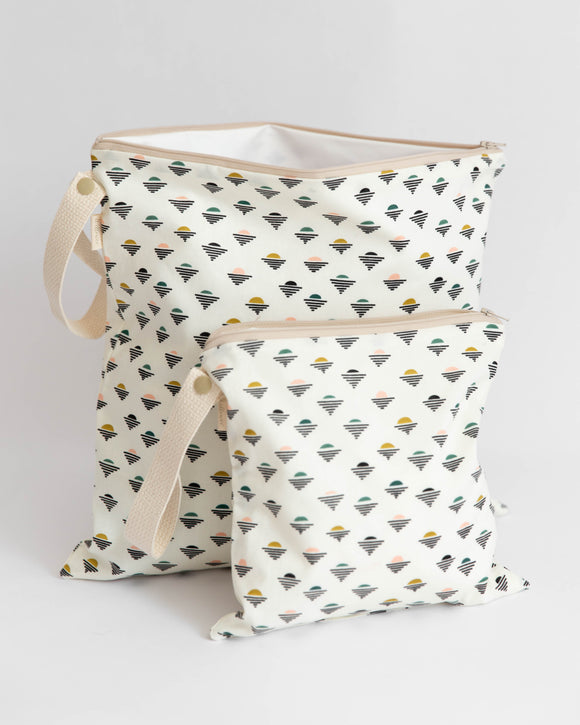 Organic Cotton Wet + Dry Bag / Setting Suns