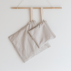 Organic Cotton Wet + Dry Bag / Pumice