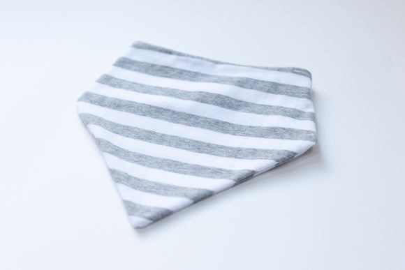 Gray Stripe Bandana