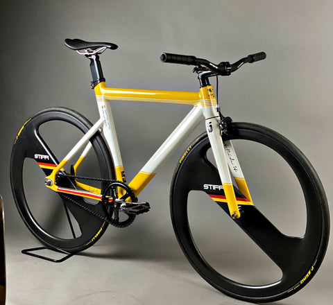 Sebastian Vettel 2020 bike JRIFIXED Fixie