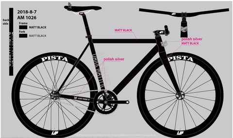 Dark Matter Jrifixed fixedgear