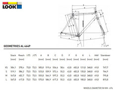 LOOK 464 TRACK FRAME SMALL