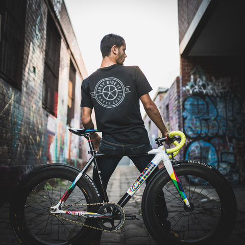 New JustRideIt vs Harry Chaos Reflective Riding T-Shirt