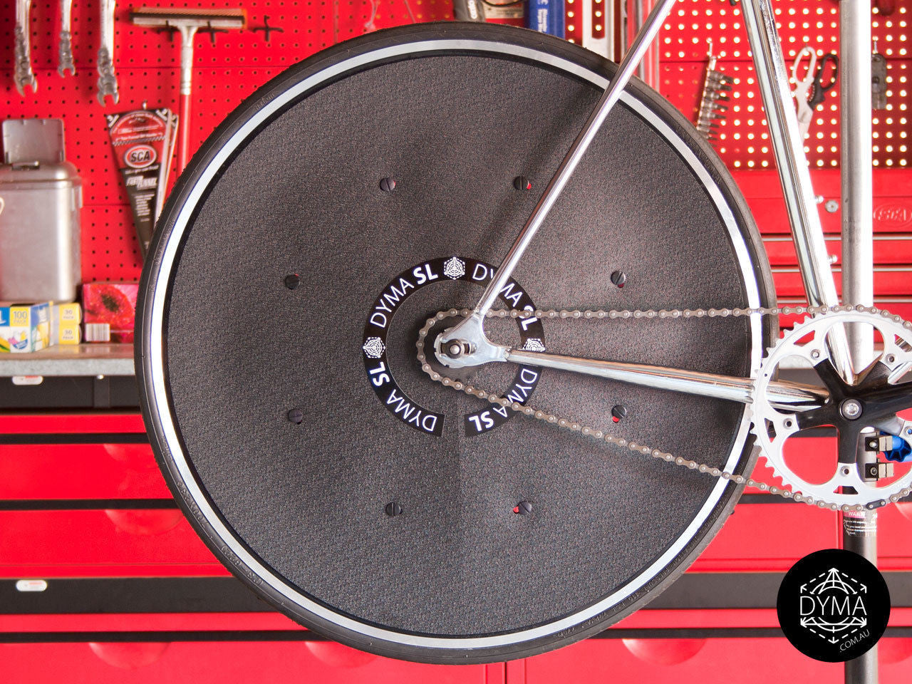 Dyma SL Track Time Trial Rim Disc Cover