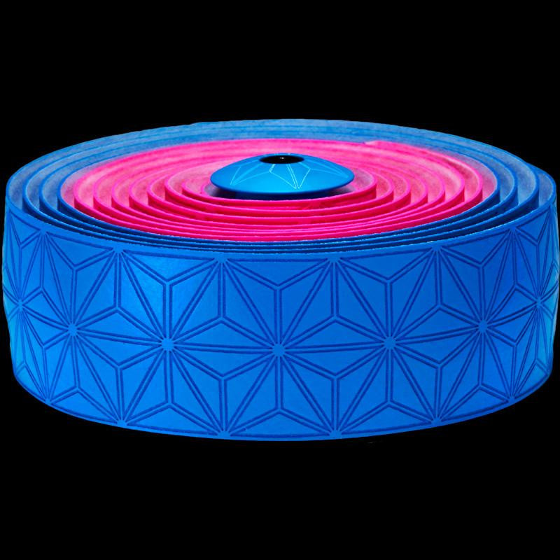 Supacaz Bar Tape SSK Neon Pink & Neon B