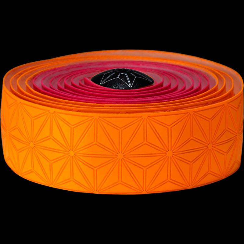 Supacaz Bar Tape SSK Neon Pink & Neon Or