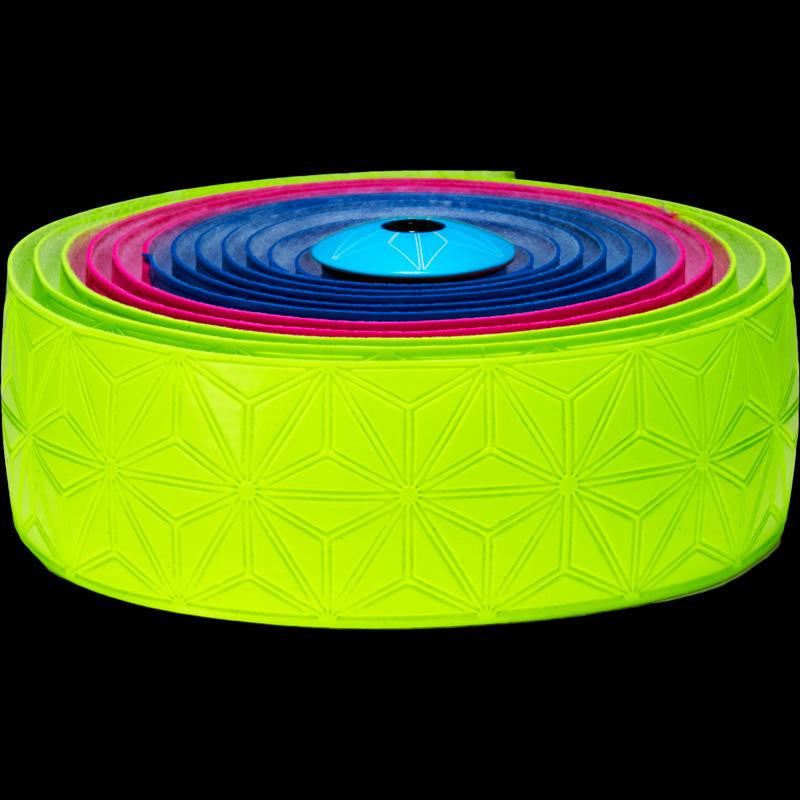 Supacaz Bar Tape SSK Neon Blu/Pink/Yel