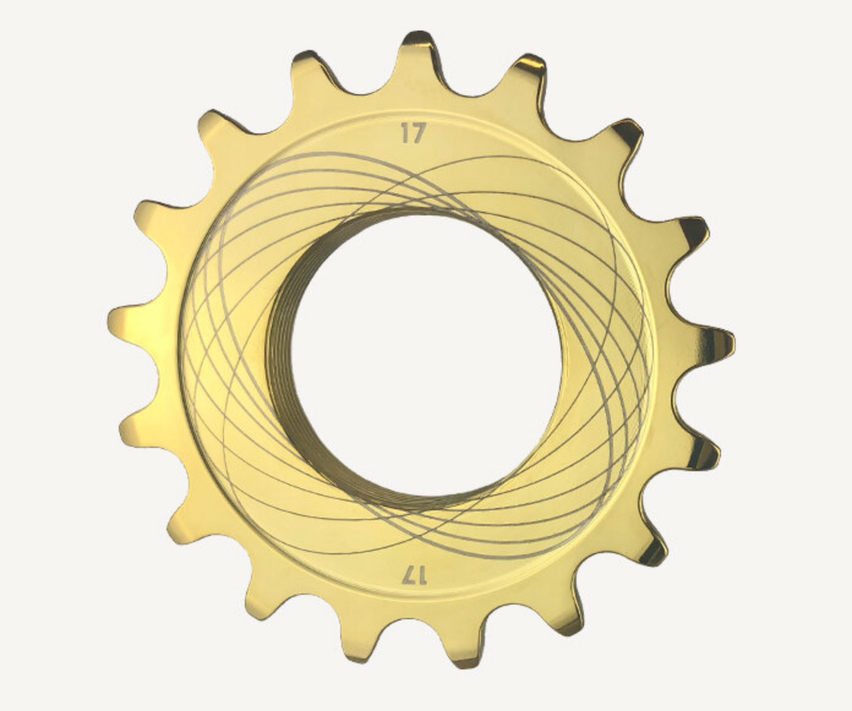 TiNite Coated (Gold) Track Cog