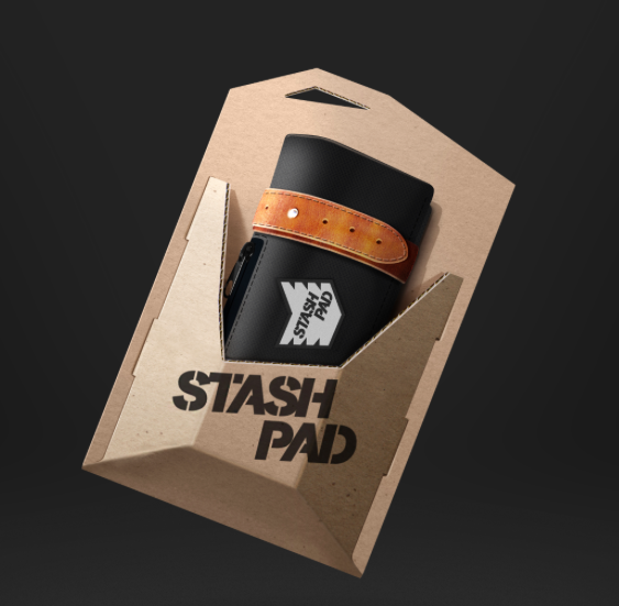 The Stash Pad - As Seen on Kickstarter!