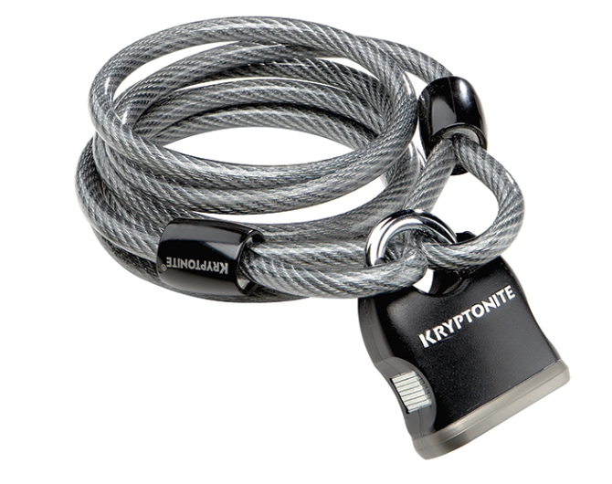 Kryptonite Kryptoflex 818 Cable/Lock Combo