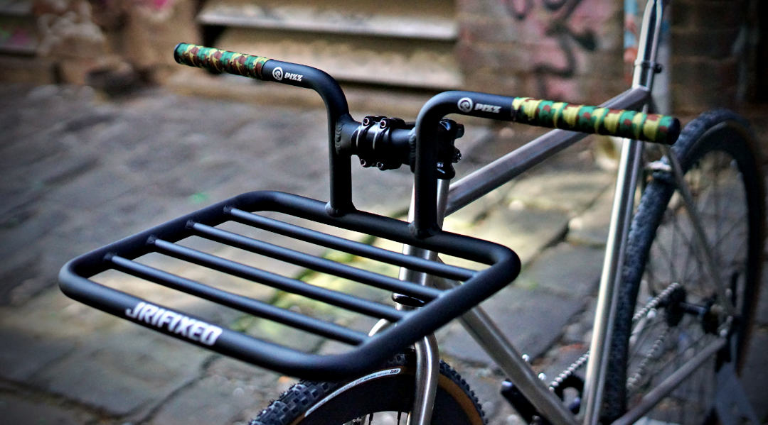 Integrated Rack 31.8mm Bolt On / Flat Tray *RISER*