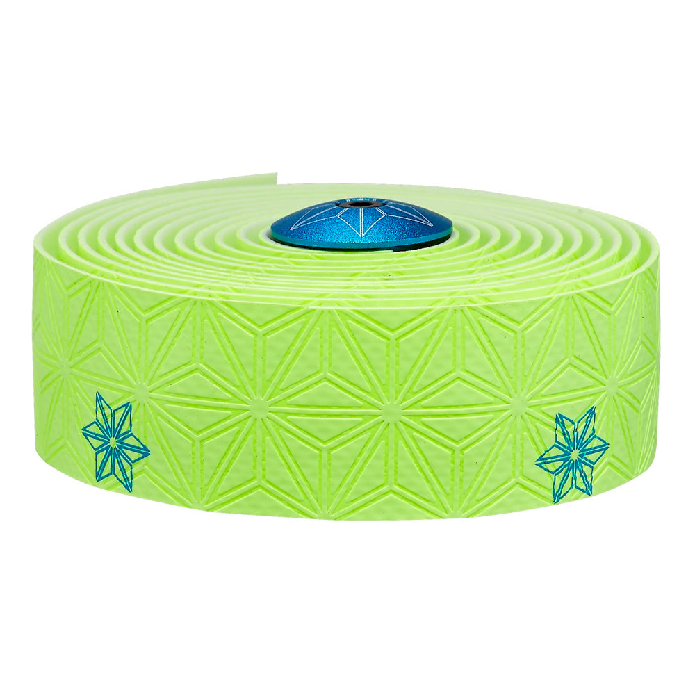 Supacaz Bar Tape SSK - Neon Yellow/Blue Galaxy