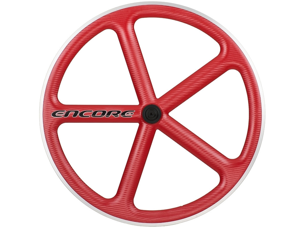 Red encore wheel, Fitzroy aerospoke