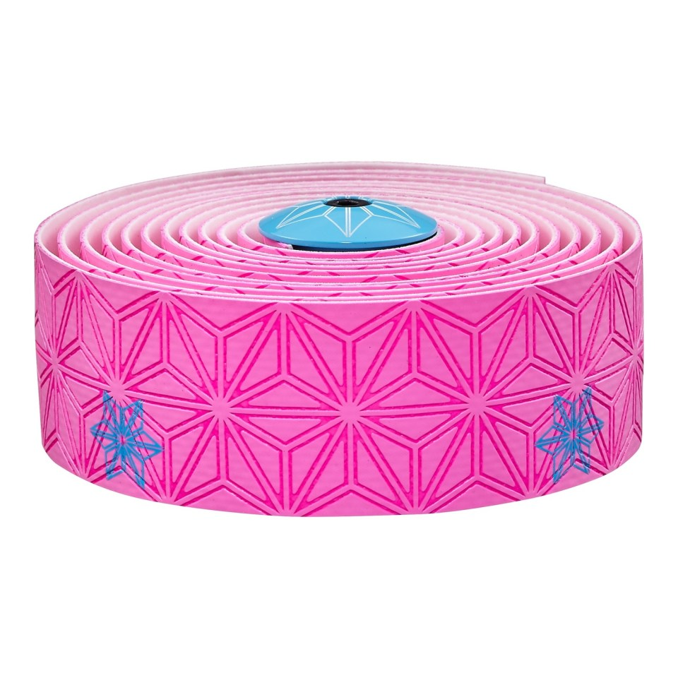 Supacaz Bar Tape SSK Neon Pink/Neon Blue Print