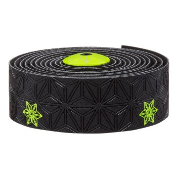 Supacaz Bar Tape SSK Neon Yellow Print