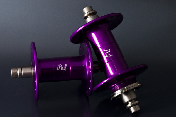 Phil Wood Classic Track Hub - Front - Low Flange