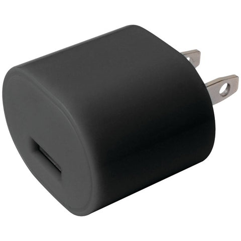 IESSENTIALS IE-AC1-USB 1-Amp USB Wall Charger (Black)