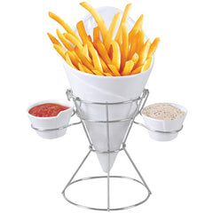 STARFRIT GOURMET 080807-006-0000 French Fry & Dip Serving Dish